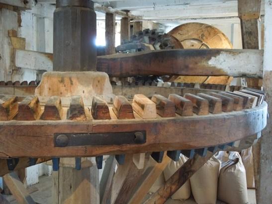 Image of the interior machinery