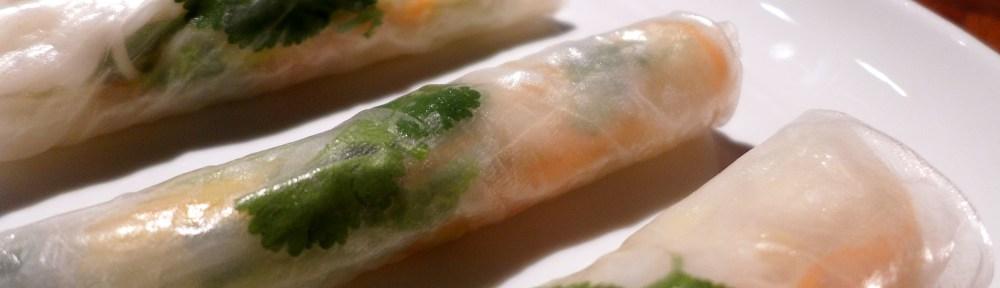 Image of summer rolls
