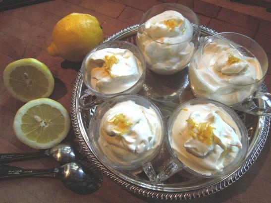 Image of lemon syllabub