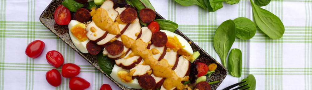 Image of smoked chicken salad