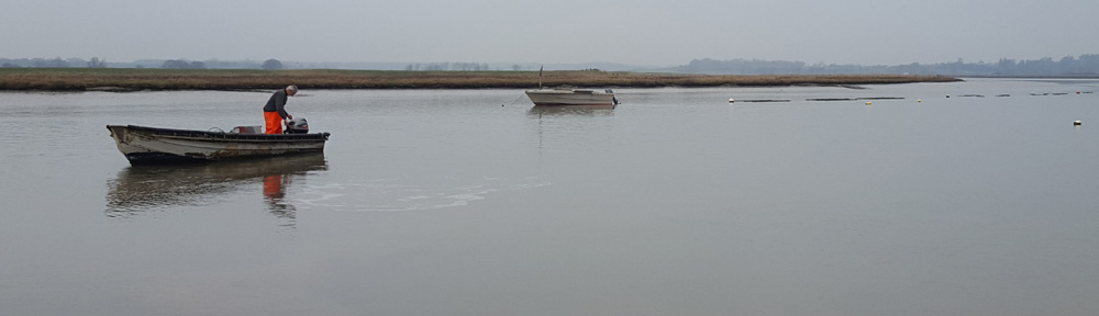 Image of bill Pinney at Orford Creek