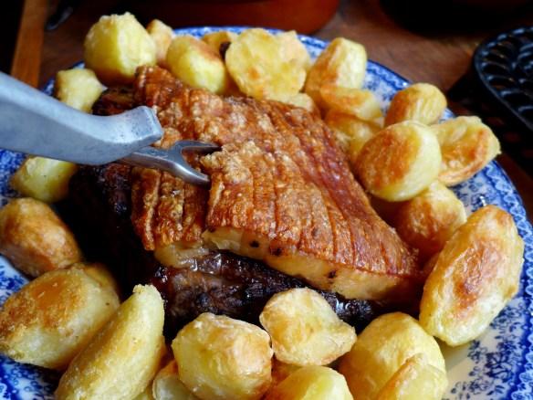 Image of slow-roast pork and crackling