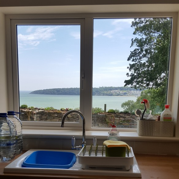 Image of view from kitchen sink