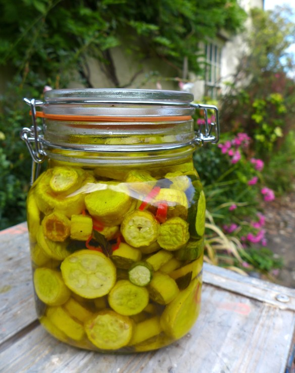 Image of courgette antipasto
