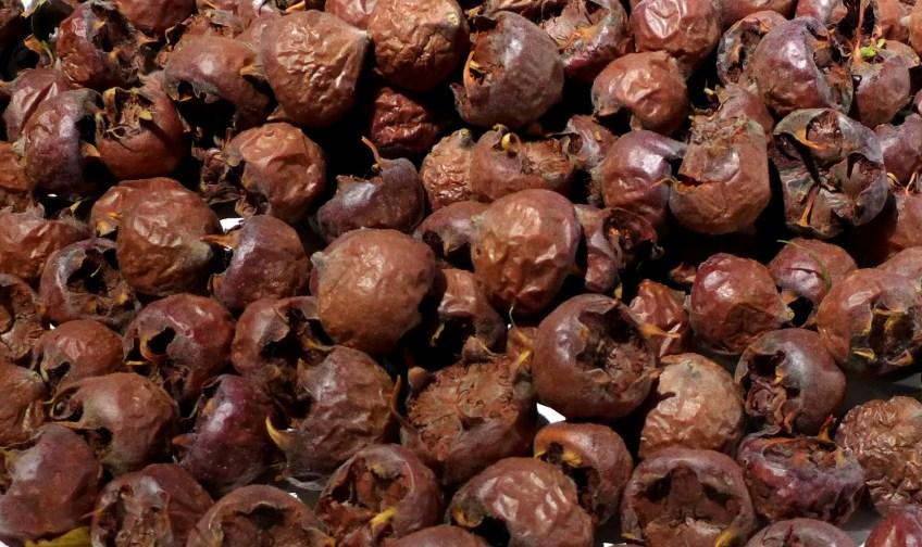 Image of bletted medlars