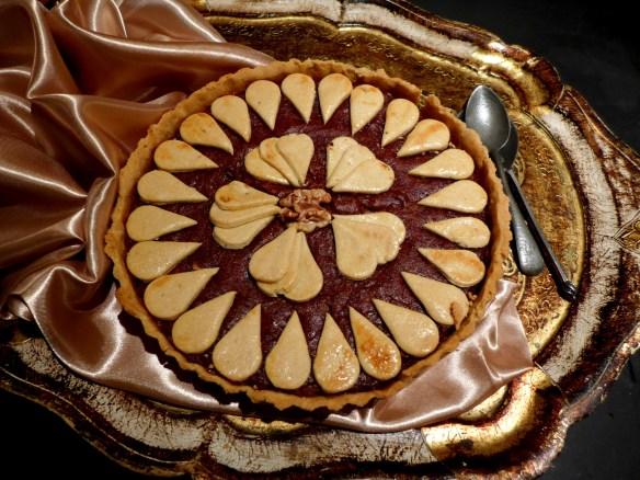 Image of medlar tart, cooked