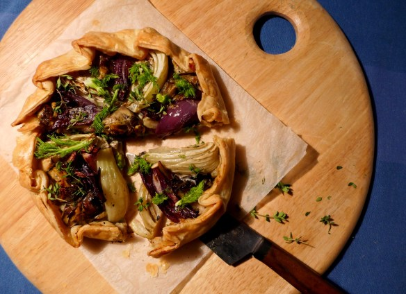 Image of Brexit Pie, sliced