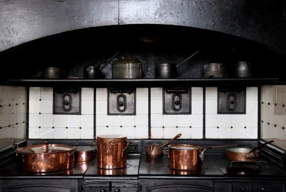 Image of the kitchen range