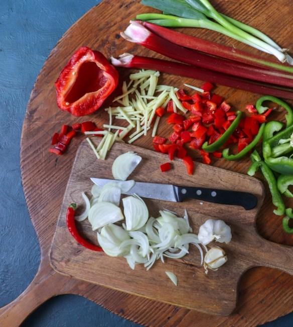 Image of vegetable ingredients