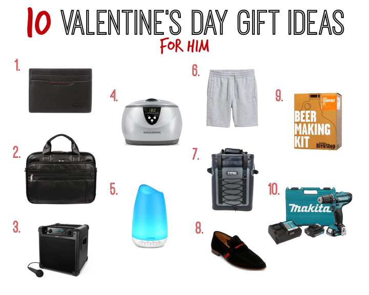 Valentine's Day Gift Guide for Him
