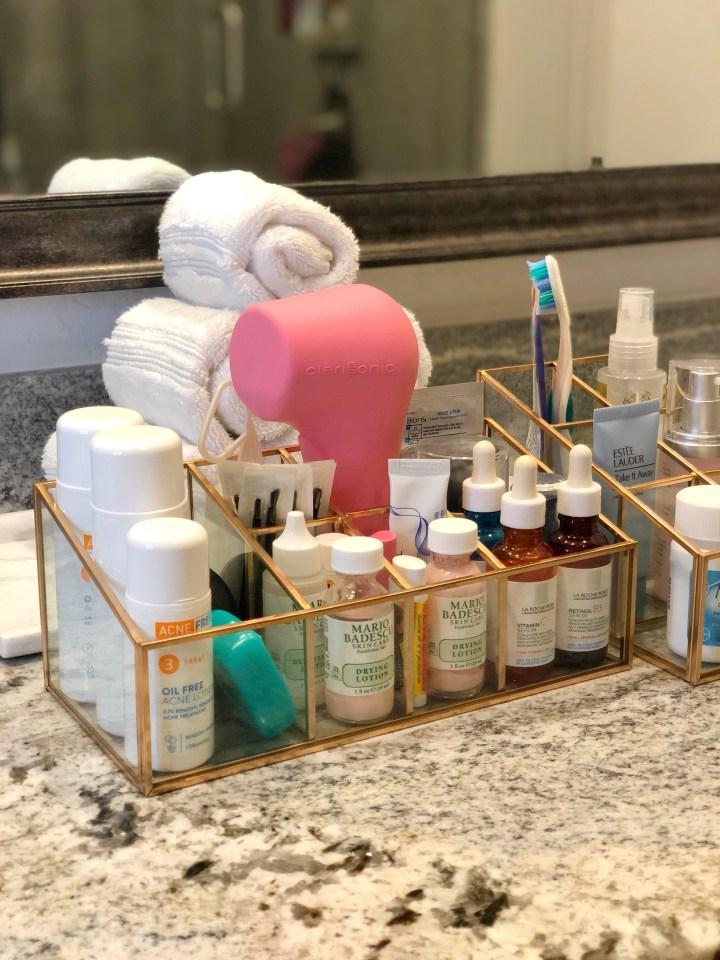 Day 24: Skin & Hair Care Organizers