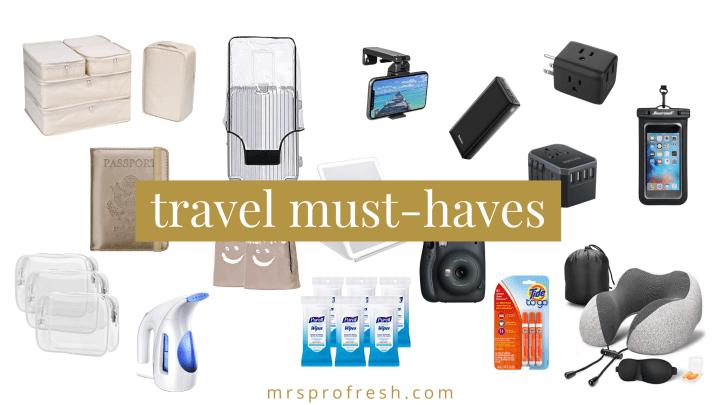 Fresh Friday Finds: Travel Essentials