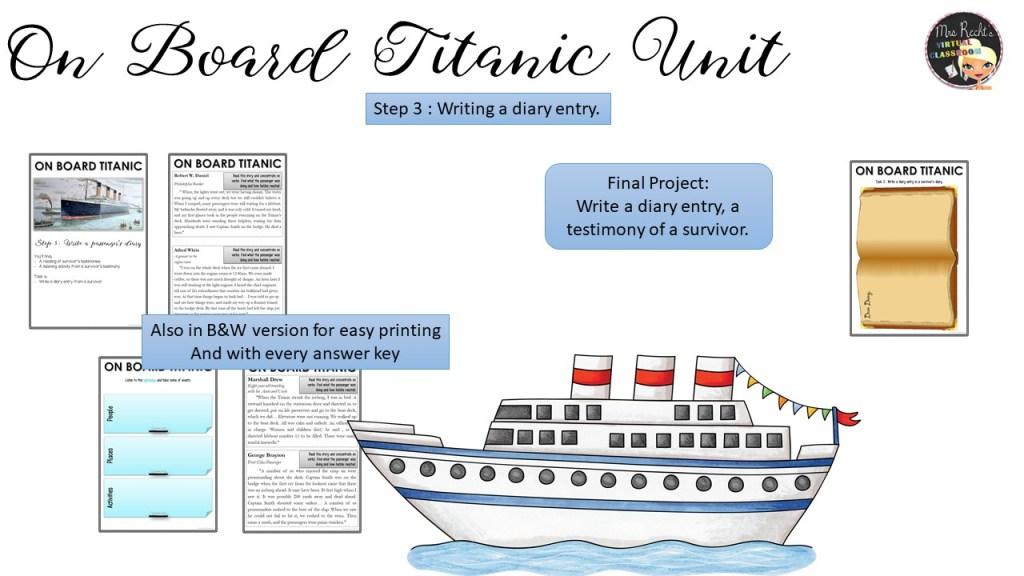 Séquence Titanic 4e