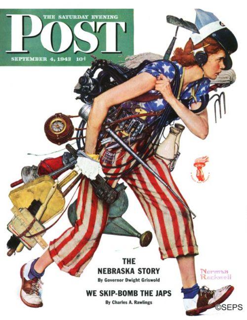 Norman Rockwell Women at War