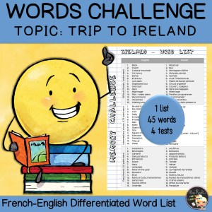 Vocabulary Word List Ireland