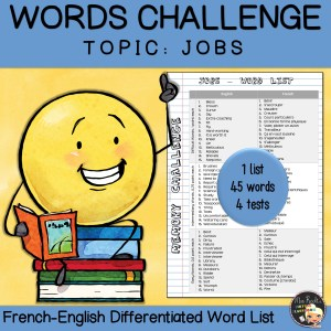 Vocabulary Word List Jobs