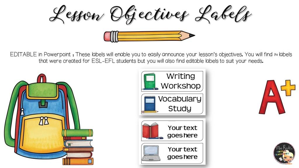 Décoration Objectifs du cours