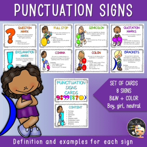 Punctuation Flashcards