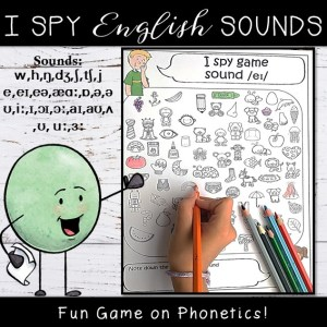 English Sounds I Spy Game