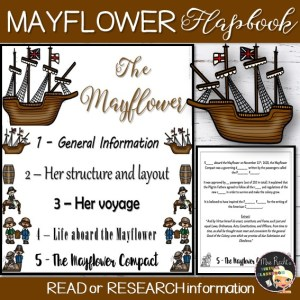 Mayflower Flapbook