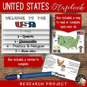 United States Flapbook