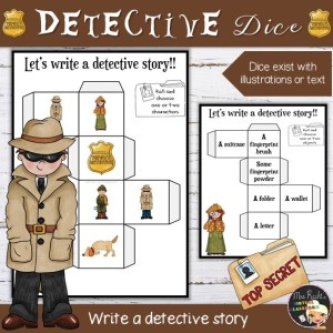 Detective story dice