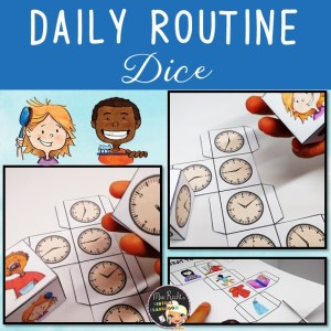 Daily Routine Dice