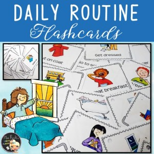 Daily Routine Flashcards