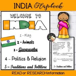 India Flapbook