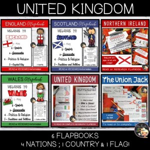 United Kingdom – Cultural Flapbooks Bundle
