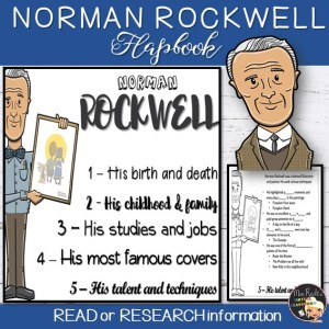 Norman Rockwell Flapbook