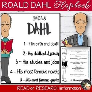 Roald Dahl Flapbook