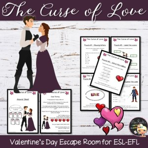 Romeo and Juliet Escape Game