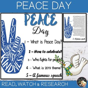 Flapbook Peace Day