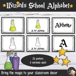 Décoration Harry Potter GB Alphabet Posters