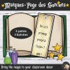 Décoration Harry Potter FR Marque-Page