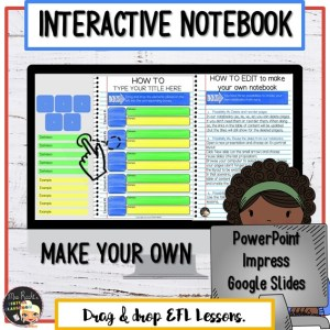 Cahier interactif numérique modifiable