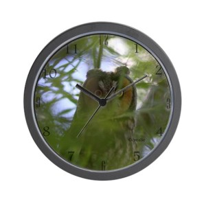 Big Eyed Owl Wall Clock