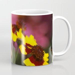 Colorful Daisy Flowers Coffee Mug