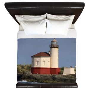 Oregon Coast Lighthouse King Duvet