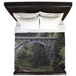 Pacific Northwest Bridge King Duvet