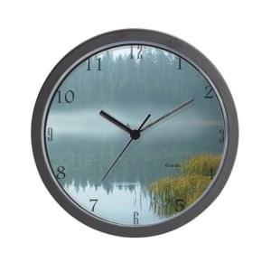 Rowboat Fishermen Wall Clock