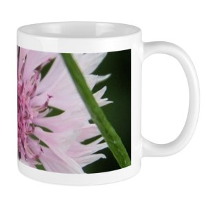 Bachelor Button Corn flower Mugs 11 oz
