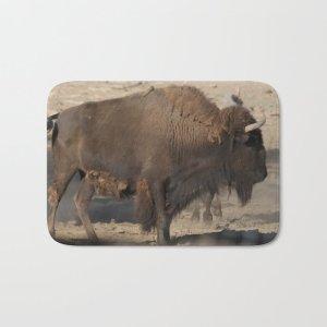 Buffalo Bull Bath Mat