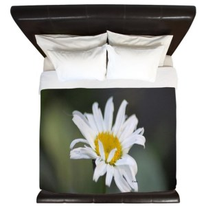 Cascade Daisy Flower Bloom King Duvet Cover