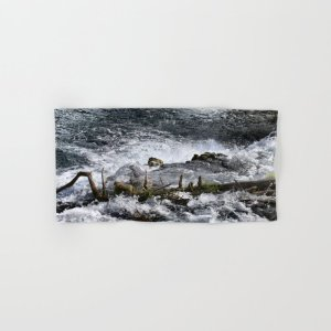 Cascades In The River Hand & Bath Towel