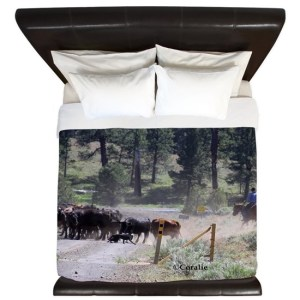 Cattle Drive King Duvet Cover