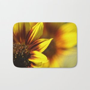 Colors of the Sunflowers Bath Mat
