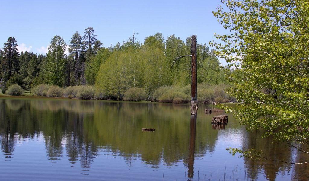 central oregon lake