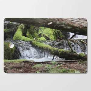 Cascades 646 Pacific Northwest Waterfall Cutting Board